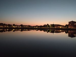 Darsena Ravenna panorama