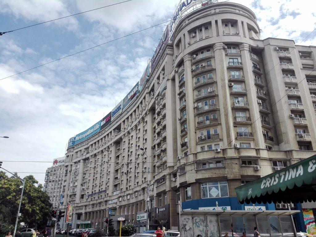 Bucarest Piata Victoriei
