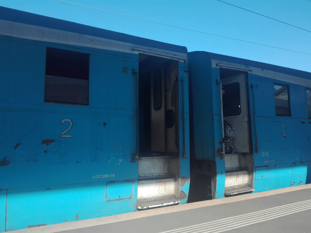 Treno regionale Romania