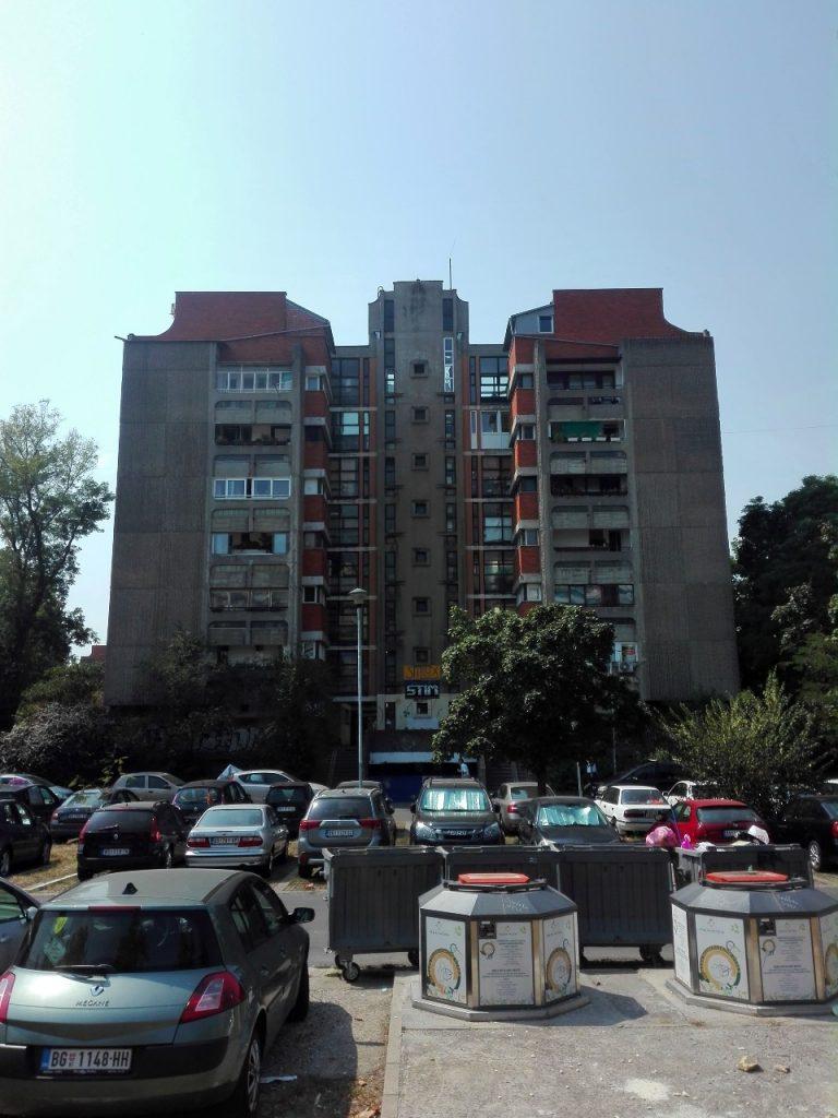 Quartiere brutalista Nuova Belgrado