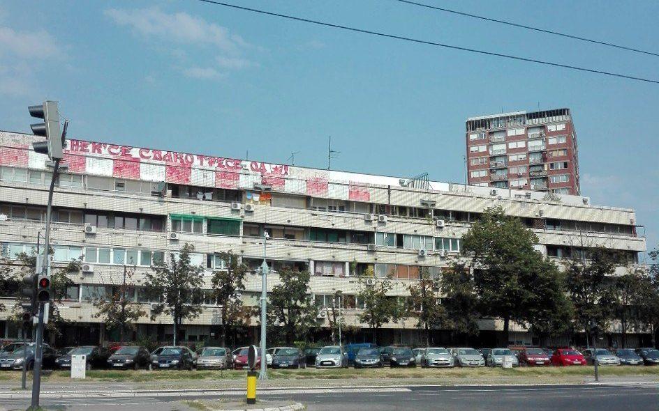 Brutalismo di Nuova Belgrado