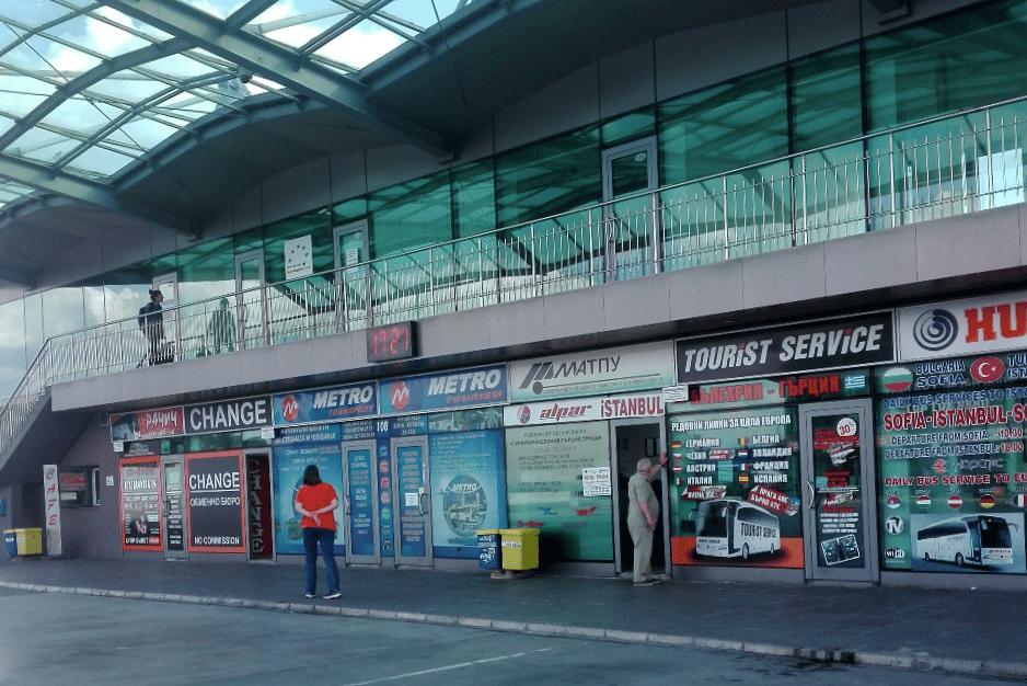 Stazione dei bus di Sofia